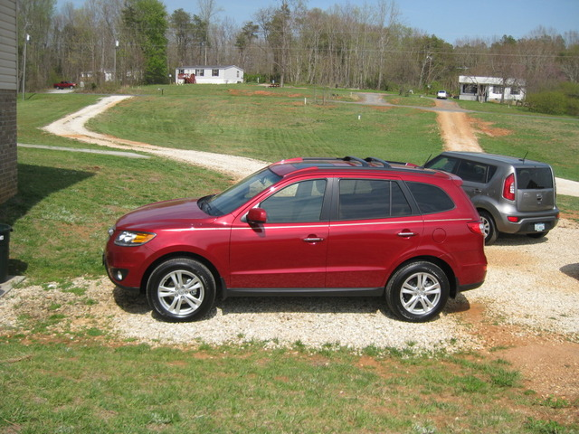 2012 Hyundai Santa Fe (LTD)