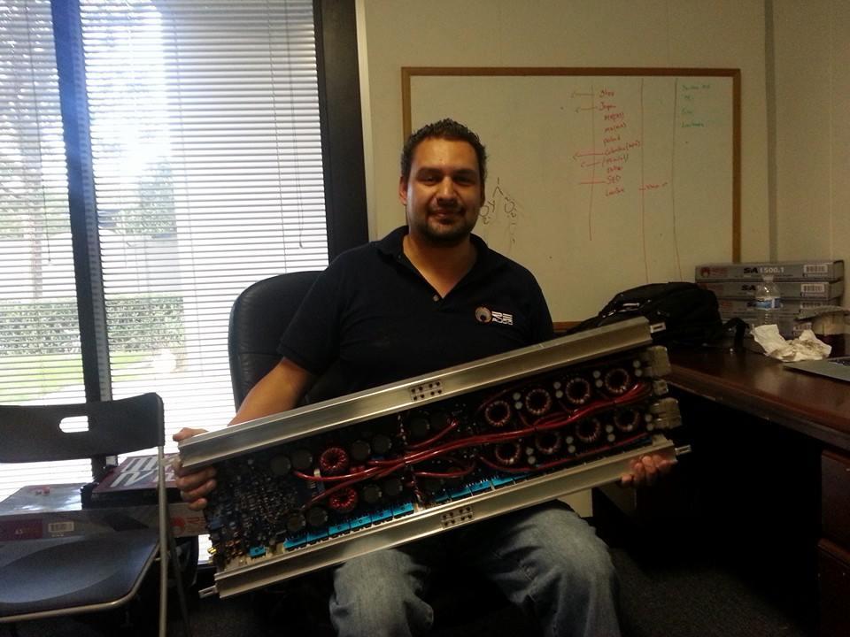 RE Audio MegaTron / US Amps Hybrid VLX-4DE Designed and Built by Dirk Ecker