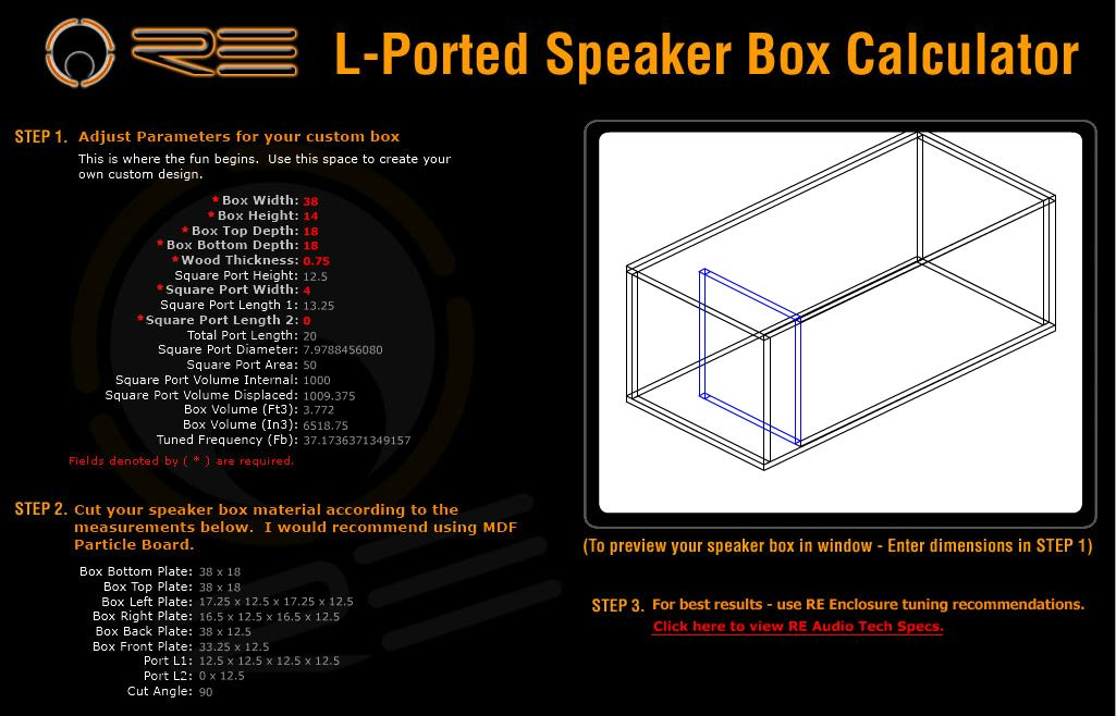 Box Design For 3 Hdc3 10 S Soundqubed Ssa Car Audio Forum