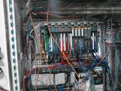 control panel we were disconnecting to ship to another plant