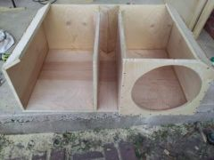 my box.....front view before done