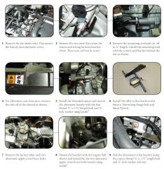 NAV EXP Alternator Instructions