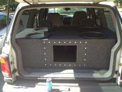 Custom box built by ANOTHER LEVEL CUSTOM SUB BOX