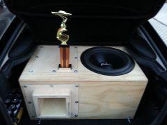 Joe's Custom box built by ANOTHER LEVEL CUSTOM SUB BOX